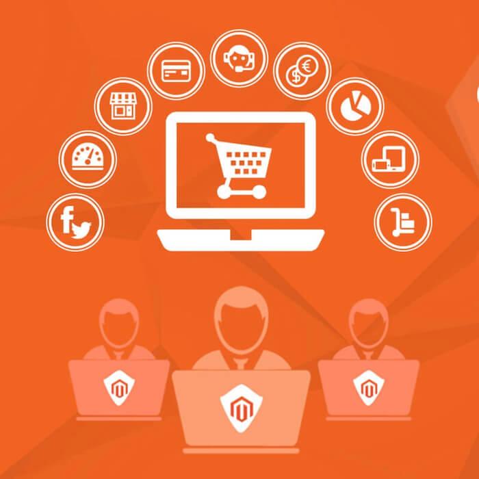 MAGENTO je dobre prispôsobiteľná a customizovateľná platforma elektronického obchodu platforma