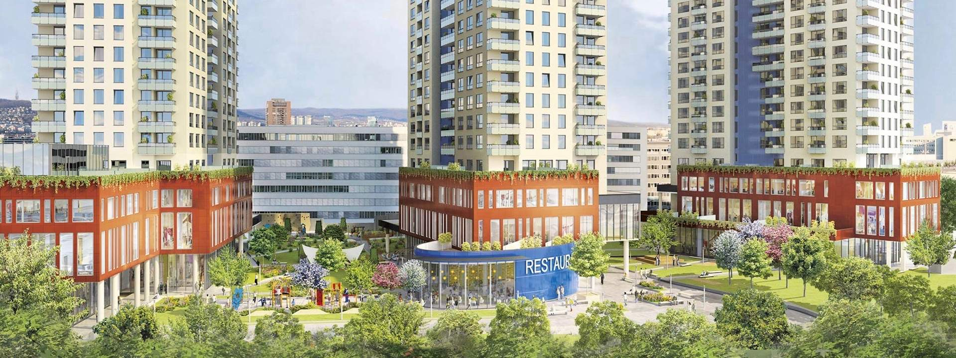 OPTIMAT spravuje digitálny marketing pre Metrostav Slovakia projekt CityPark Ružinov